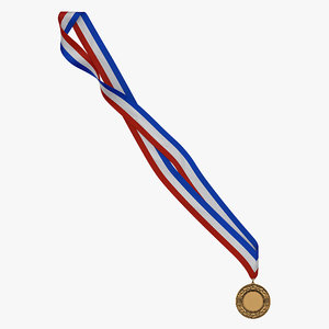 award medal 2 bronze obj
