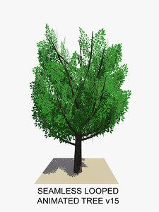 tree animations 3d c4d