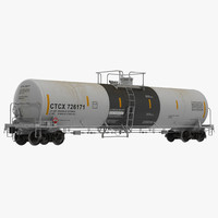 Railroad Tank Car 2
