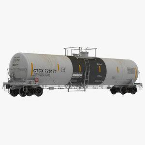 3ds railroad tank car 2