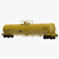 Railroad Tank Car 3
