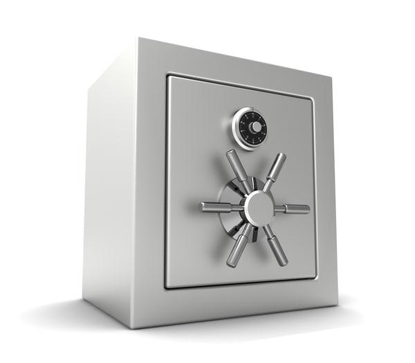 vault safe 3d max