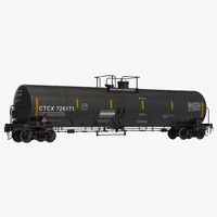 3ds max railroad tank car