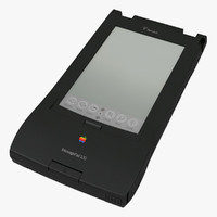 Apple Newton Message Pad 120 3D Model