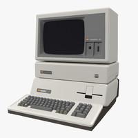 Personal Computer Apple III 3D Model