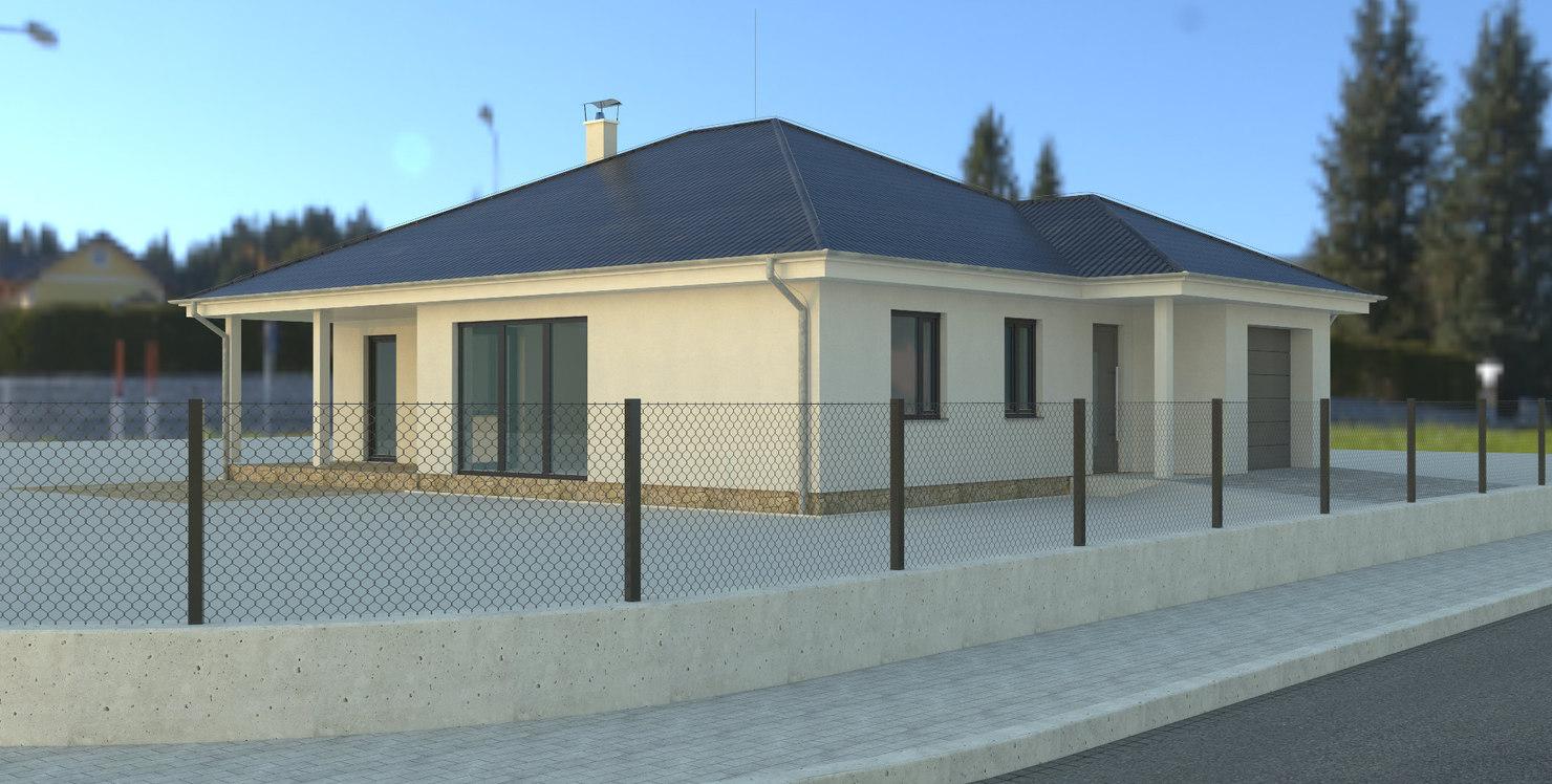 family house 3d model