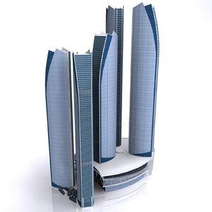 3ds etihad tower building