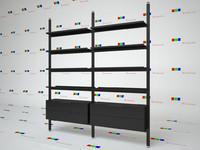 Bookcase Brompton Boffi