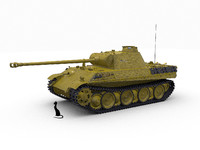 panther ausf 3d max