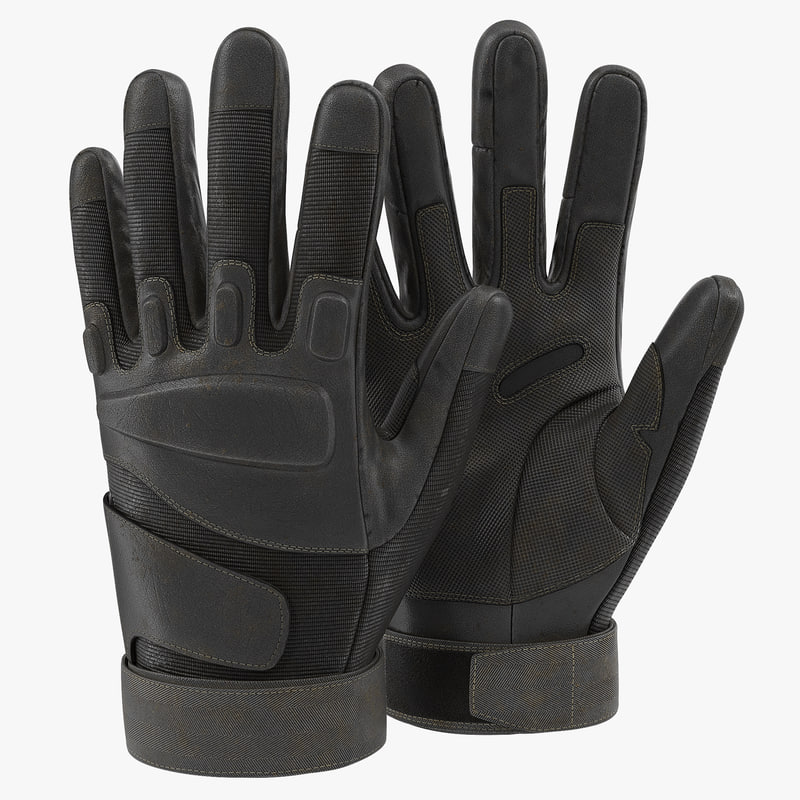 c4d soldier gloves black
