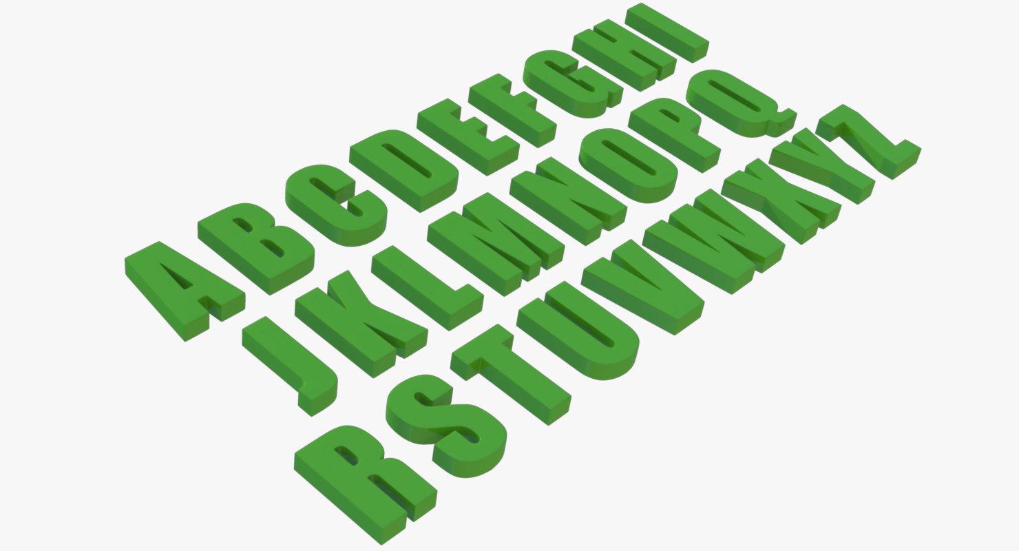 obj letters advertising movie