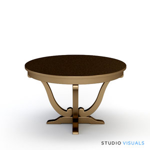 camille table vr 3d model