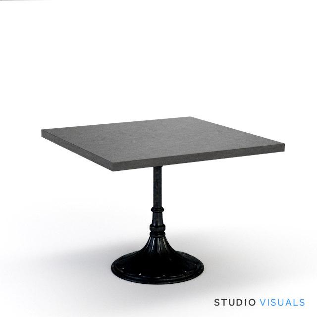 3d model table 01