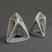 Chestahedron pendant