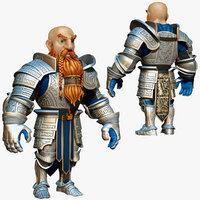 obj dwarf knight armor