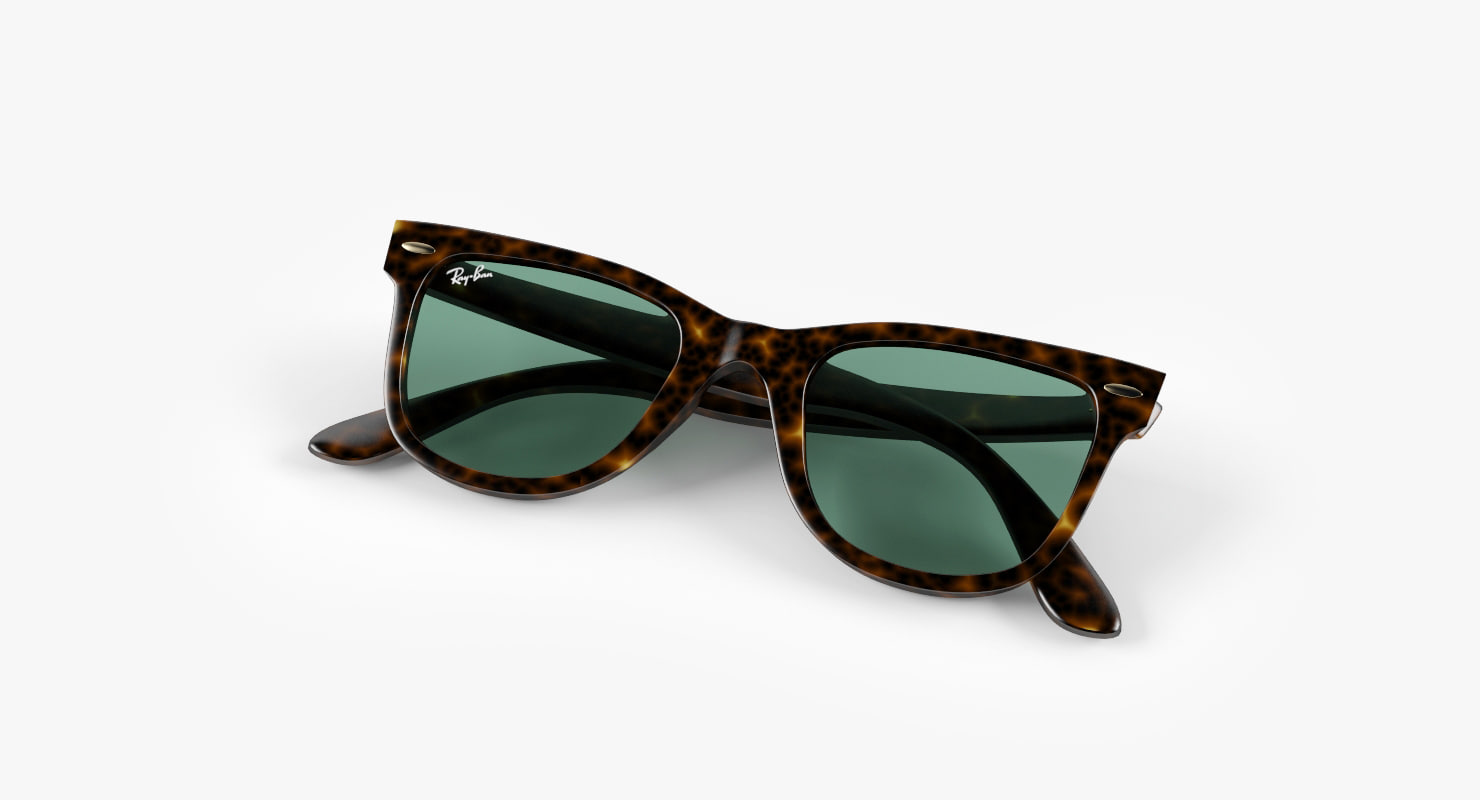 3d max sunglasses sun