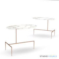 Bridger Oval Side Table VR