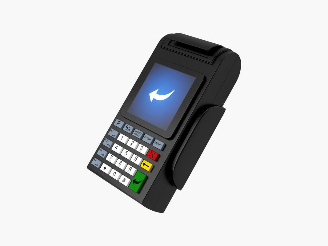 max credit card terminal