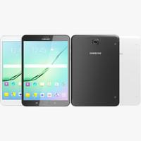 Samsung Galaxy Tab S2 8.0 Black & White