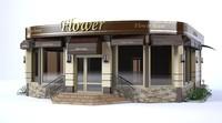 3d shop flower