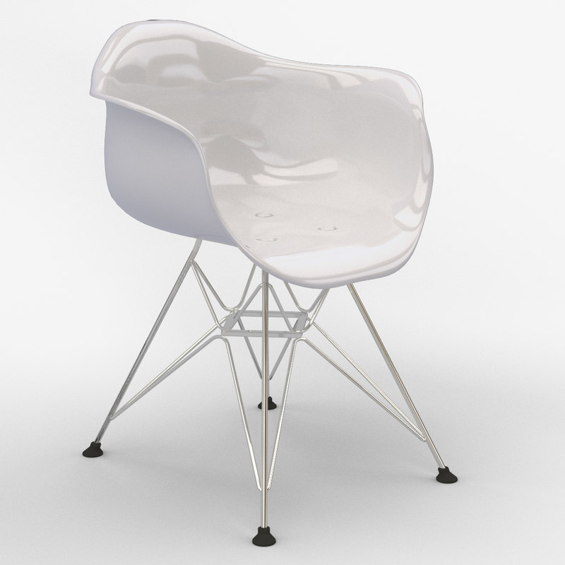 3d dar armchair chairs model