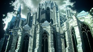 amiens gothic cathedral 3d model
