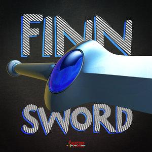 3dsmax finn sword
