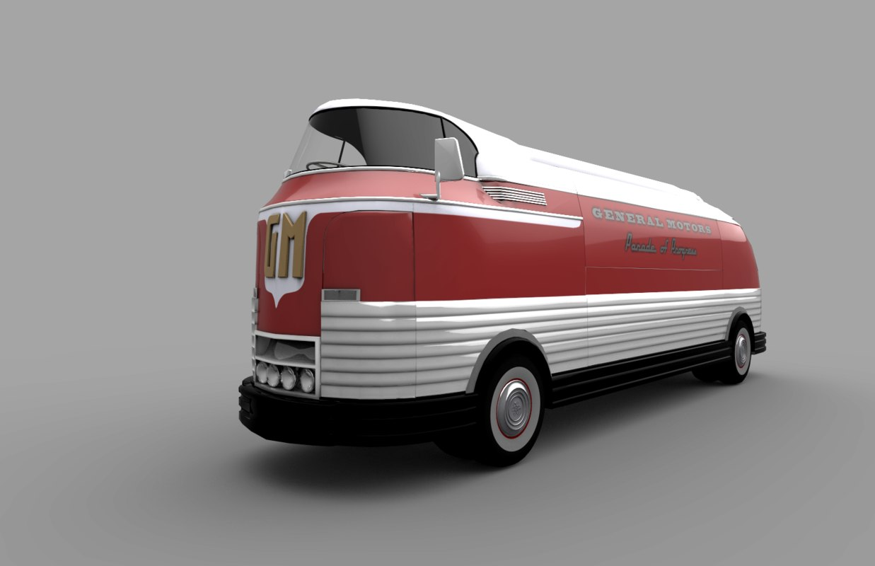 gm futurliner 3ds