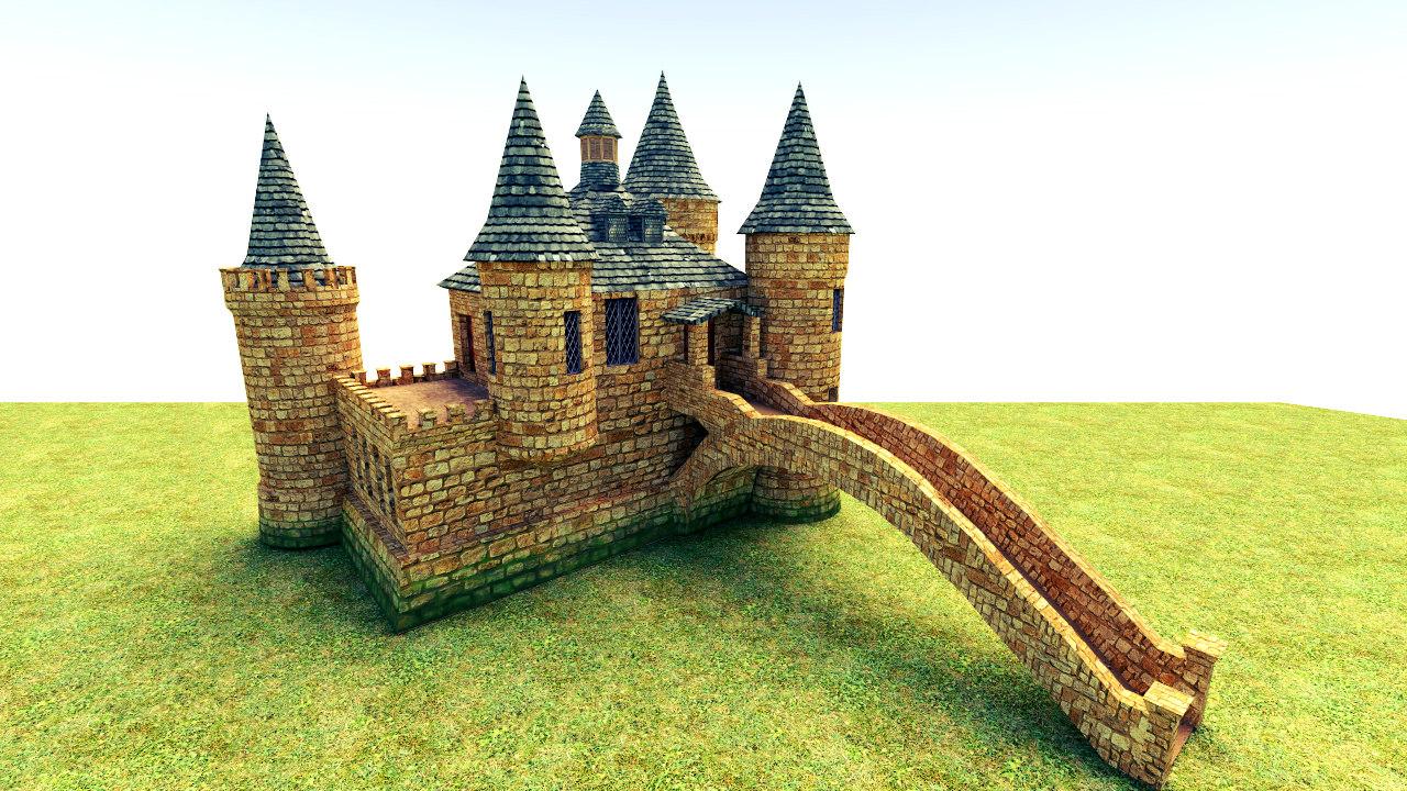 boldt castle 3d model