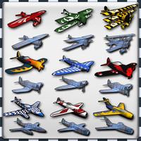 lods air plane 3d model