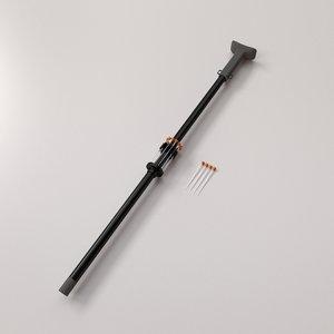 3d blowgun blow gun