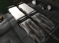 Bed & Mattress (x2)