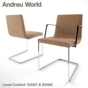 3d max andreu world lineal comfort