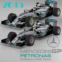 Mercedes W06 Hybrid