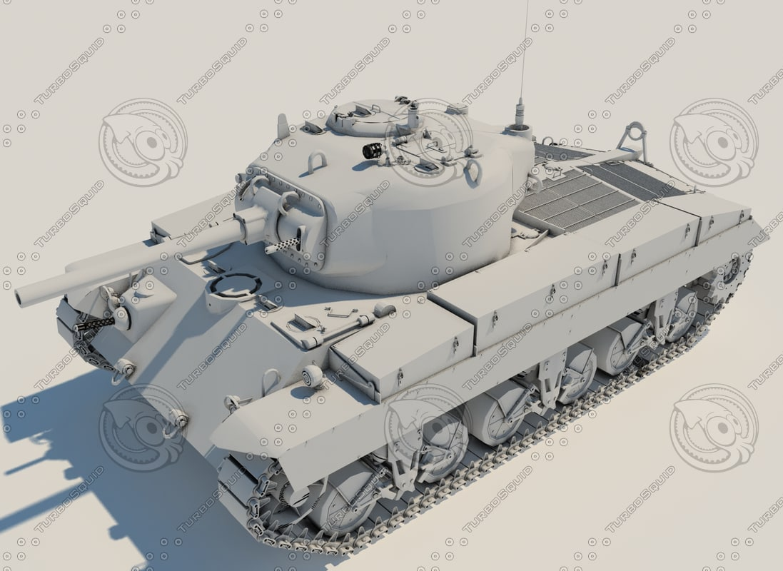 3ds max gaming tank guns t21