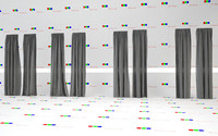 resolution linen curtains 3d c4d