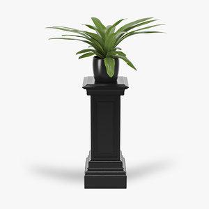 3d model column salvatore