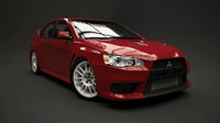 blend lancer evolution x