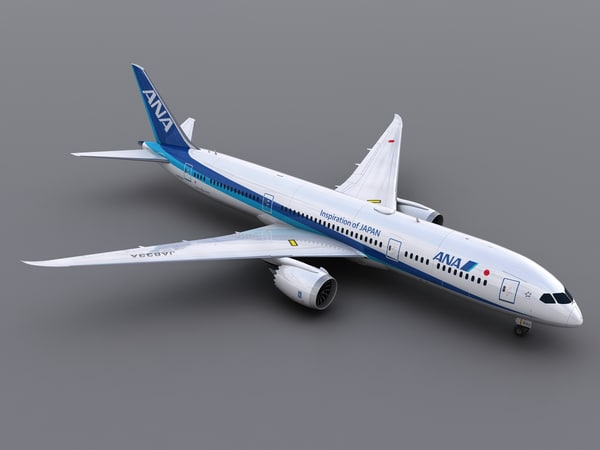aircraft ana obj