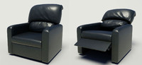 reclining chair 3d model