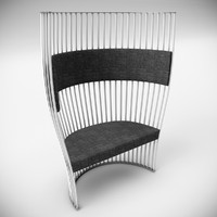 southbeach chair 3d model