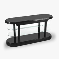 3d max console table pierce