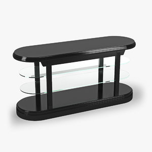 3d max console table pierce