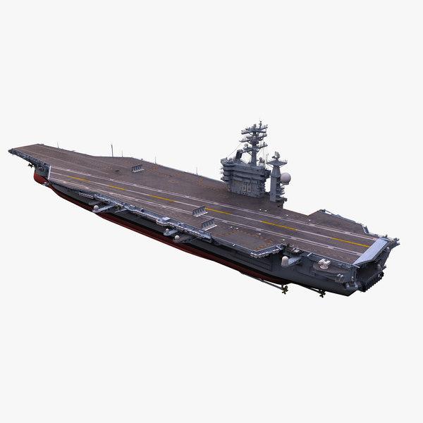 3d uss nimitz aircraft carrier