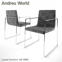 3d andreu world lineal comfort model