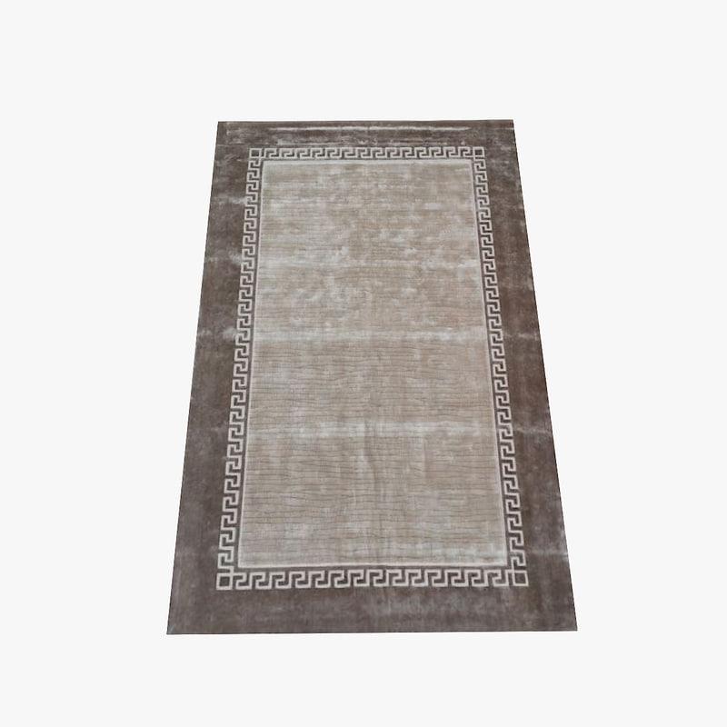 versace carpet gesu 3d obj