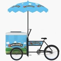 Ben & Jerry's Ice Cream Cart