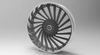 dub wheel donk 3d obj