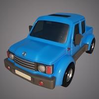 3d pickup toon