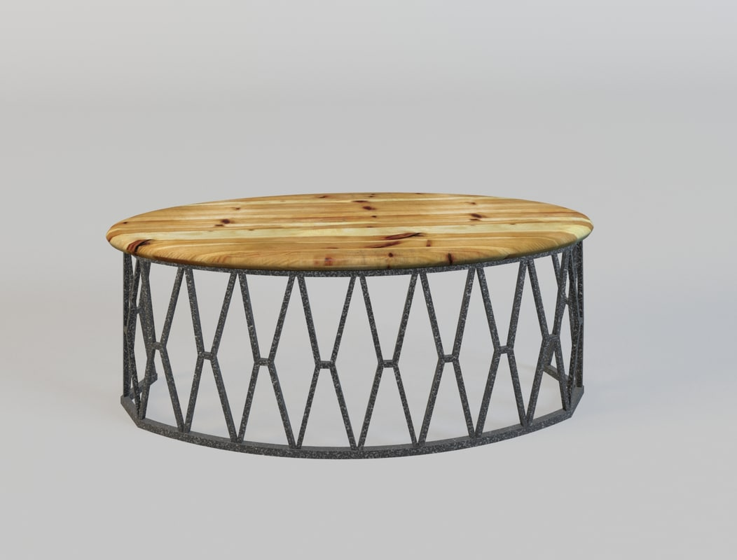 wrought iron table 3d max